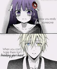 hmm.. dont know the manga,,, but I relate to the quote. More