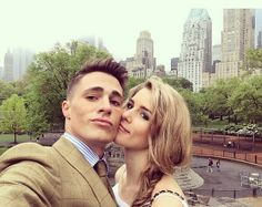 #Arrow Emily & Colton #emton <3 ---- they're so cute together, but this makes my Olicity & Rhea feels go haywire. xD