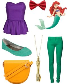 """""""Ariel's Outfit"""" by maceynoelle ❤ liked on Polyvore"""