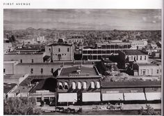 Last street back was 7th Street in the early 1900's. From  Phoenix: Then and Now.