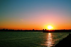 Sunset at Black Sea in Mangalia by amintirivizuale, via Flickr Magic Hour, Alleyway, Black Sea, Old Buildings, Twilight, Sunrise, Trail, To Go, Country