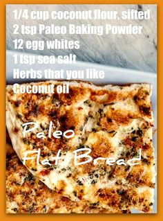 Paleo flatbread paleo flat bread for pizza, for sandwiches, for snacks Clean Eating Pizza, Clean Eating Sweets, Clean Eating Chicken, Clean Eating Breakfast, Clean Eating Meal Plan, Clean Eating Recipes, Diet Recipes, Keto Pizza Crust Recipe, Keto Bread
