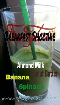 Vegan & Gluten-free Breakfast Smoothie