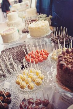 Wedding dessert bar ideas #cakepops #desserttable #dessertbar #weddingideas #dessert