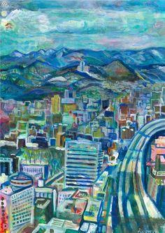 街画「なんて良いお天気」[ko-aya]   ART-Meter