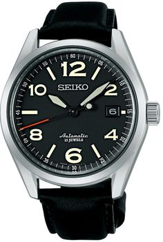 SEIKO Mechanical self-winding watch (with manual winding) SARG011 Men: Watches