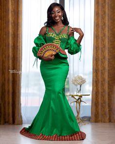 Kente Dress, Kente Styles, Kente Cloth, African Culture, African Fashion, Color Pop, Marie, Engagement, Bridal
