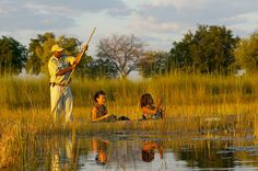 Overlooking the Xugana Lagoon, a spectacular water site, experience a classic Delta safari from this island lodge. African Sunset, Okavango Delta, Adventure Activities, African Safari, Travel Deals, Luxury Travel, Tourism, The Incredibles, Island