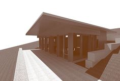 Residential Cabin in Calabria, 2015 Italy - Renderings