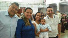 Diário do Felipinho: Meu batizado.