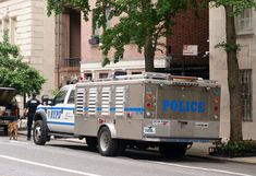 NYPD Transit Canine Unit Truck