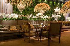 Lounge luxuoso para casamento