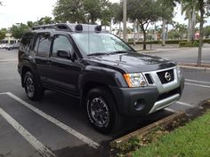 """My new 2014 Nissan Xterra PRO4x affectionately named """"Marge."""""""