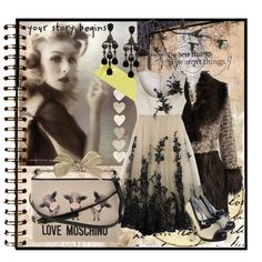A fashion look from November 2012 featuring fur-collar coats, laced up shoes and courier bags. Browse and shop related looks. Opening Ceremony, Journal Pages, Moschino, Clothes For Women, My Style, Polyvore, Alexander Mcqueen, Women's Clothing, Design