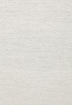 Wallcovering / Wallpaper | Sisal Texture in Snow | Schumacher