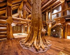 Harry scott 39 s arkansas home loghome log home interior for Ark holidays llp