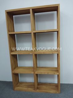 TEAK BOOKSHELF – 8 COMPARTMENTS [SL13] https://www.teakvogue.com/product-…/furniture-sale-malaysia/