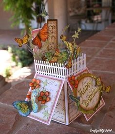 Craftynikky card box butterfly 4: