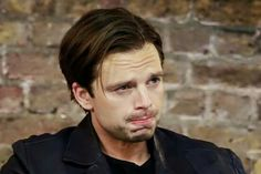 Sebastian-trying to understand what you said because I'm Romanian give me a break-Stan Sebastian Stan, Toby Hemingway, Captain America And Bucky, I Will Fight, Bucky Barnes, Winter Soldier, Most Beautiful Man, Baby Daddy, To My Future Husband