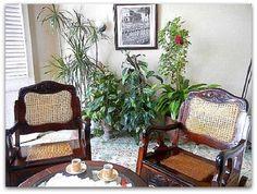 Salita Outdoor Furniture Sets, Outdoor Decor, Cuba, Colonial, House, Ideas, Home Decor, Double Bedroom, Windows