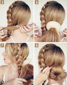 Die 18 Besten Bilder Auf Coole Hochsteckfrisuren Hair Makeup Hair