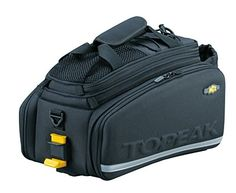 Topeak MTX Trunk Bag DXP Bicycle Trunk Bag with Rigid Molded Panels http://coolbike.us/product/topeak-mtx-trunk-bag-dxp-bicycle-trunk-bag-with-rigid-molded-panels/