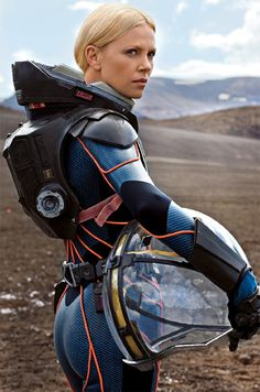 space suit | Charlize Theron