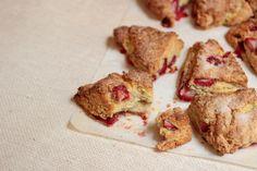 Strawberry Buttermilk Scones  #SundaySupper / Vintage Kitchen