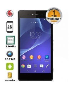 Xperia Z2 - 5.2'' - 16GB - 3GB RAM - 20.7MP Camera - Black