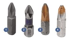What's the Difference: Phillips-head screwdriver bits. Choosing the right bit helps prevent stripping screws