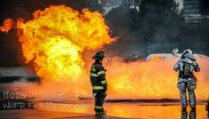 From the live fire training in Cleveland...