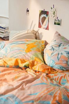 Clara Boho Jungle Border Pillowcase Set