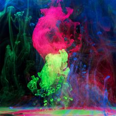 Aqueous Electro: New Underwater Ink Photos by Mark Mawson