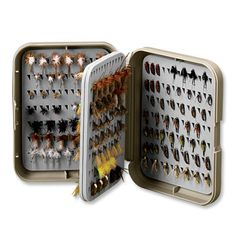 PosiGrip Flip Page Fly Box by Orvis (x2). $18.