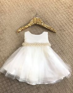 Baby Girl Christening Dress Baby Baptism Dress White baby