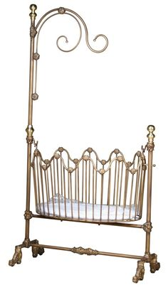 ss17 Rosenberry Rooms has everything imaginable for your child's room! Share the news and get $20 Off your purchase! (*Minimum purchase required.) Dynasty Iron Cradle
