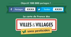 Découvrez si votre commune utilise des pesticides et aidez nous à enquêter sur les autres.