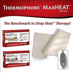 ⬆️⬆️Super large #Thermophore MaxHeat Deep #TherapyPad with #moist heat PEFECT for soothing your #bodypain. #pickmyheatingpad Read our article for more⬇⬇ http://www.pickmyheatingpad.com/thermophore-therapy-pad-review/