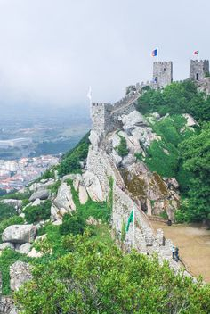 be1287e3ec Castelo dos Mouros   Castle of the Moors — Visiting Lisbon