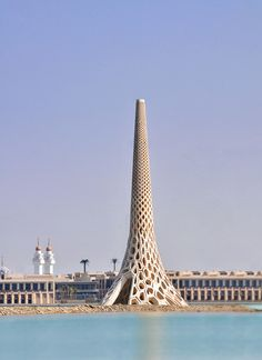2 | This Majestic Lighthouse Cools Itself In The Hot Saudi Sun | Co.Exist: World changing ideas and innovation