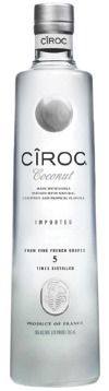 Best skinny summer drink ever - Ciroc Coconut Vodka, mint, lime, agave nectar and club soda or water #ciroc #cirocvodka #vodka