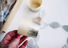 Glitter tableware