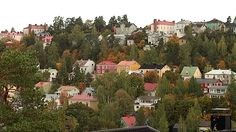 Pispala in Tampere. I Want To Travel, Homeland, Finland, Dolores Park, To Go, Around The Worlds, Earth, City, Places