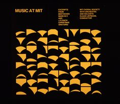 Music by the Choral Society at MIT of all places by poster artist Jacqueline Casey, undated.