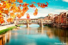 Ahhhh...Autumn! The color change adds another layer of beauty to an already stunning destination in Florence, Italy