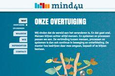 Mind4U // // Design by Bomkracht