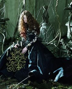 Flowing gowns and sumptuous jewellery lend fashion an ethereal air, as Tate Britain celebrates the Pre-Raphaelites. Fashion by Daniela Agnelli; photographs by Jeff Bark.