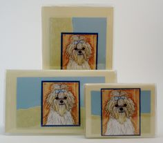 Maltese Gift Set $32 She adores her precious Maltese, she will love this thoughtful gift. Includes address phone book, checkbook, and credit card wallet photo case. #maltese  #petlovers #animallovers #petgifts #jadesmenagerie #checkbookcover #giftideas #giftset  #