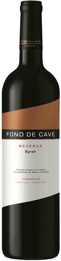 """""""Fond de Cave Reserva"""" Syrah 2011 - Bodega Trapiche, Maipú, Mendoza--------------------------------- Terroir: Cruz de Piedra-------------Crianza: 15 meses en barricas de roble francés"""