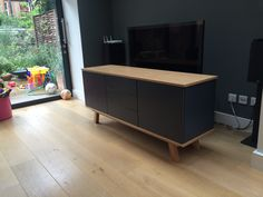 Sideboard Customer Gallery - Join Furniture Low Sideboard, Sideboard Furniture, Glass Furniture, Furniture Design, Furniture Companies, Contemporary Furniture, New Homes, Join, Cabinet